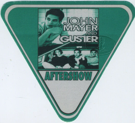JOHN MAYER & Guster 2003 Tour Backstage Pass