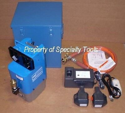 Thomas Betts 13950p1 Battery Hydraulic Pump Crimper Burndy Tb Huskie Rec-p1