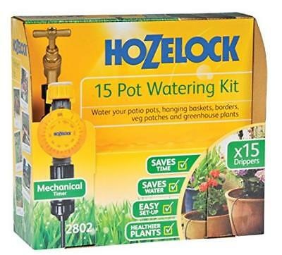 Hozelock (2802 0000) 15 Pot Automatic  Watering Kit With AC Plus Timer