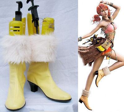 Final Fantasy XIII FF 13 Oerba Dia Vanille Cosplay Schuhe Kostüme Shoes - Vanille Cosplay Kostüm
