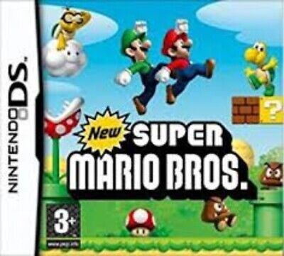 New Super Mario Bros. - Nintendo DS Game. *** Cartridge only *** UK Genuine