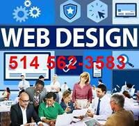 Conception site web - Site internet PRO, Blog, Montréal 449-