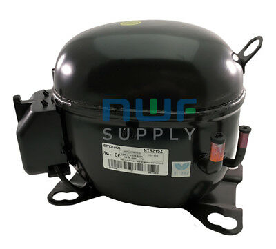 Tecumseh Ak168at-032-b4 Replacement Refrigeration Compressor R-134a 12 Hp