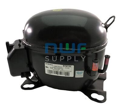 Tecumseh Aka4460yxa Replacement Refrigeration Compressor R-134a 12 Hp