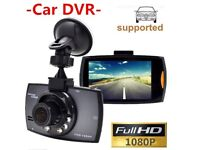 Dash Cam Full HD 1080P ; Car DVD Camera Recorder with Motion Detection Night Vision G-S