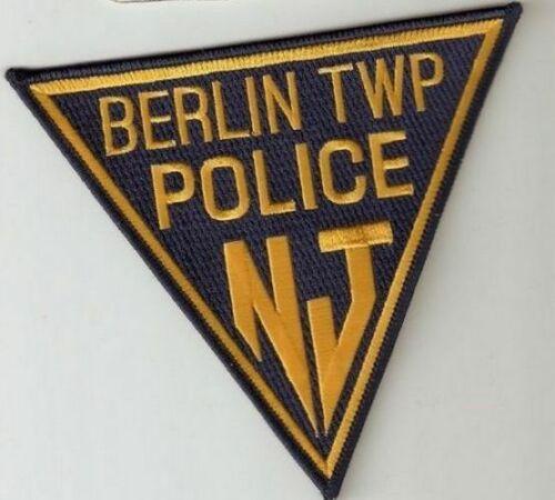 BERLIN TWP NEW JERSEY NJ POLICE DEPT TRI SHAPE (FIRE) BPD PD LAW ENFORCEMENT