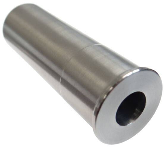 как выглядит 12GA to 9MM Luger Shotgun Adapter - Chamber Reducer - Stainless - Free Shipping! фото