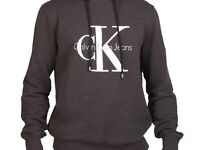 Genuine Calvin Klein Logo Hoodie. New. Size Small Medium