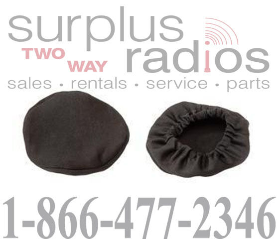 Pair of Cloth Cover Replacement Racing Dual or Single Muff Headset Motorola