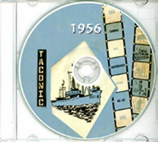 USS Taconic AGC 17 1956 Caribbean / Med Cruise Book CD