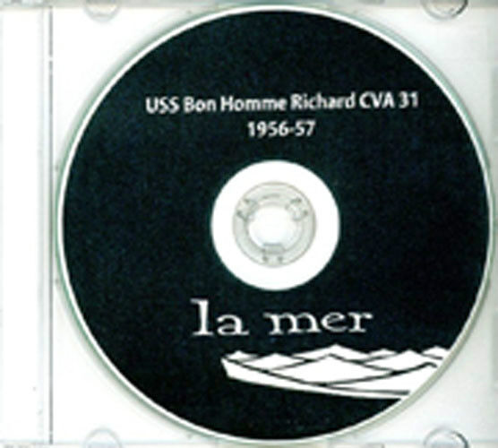 USS Bon Homme Richard CVA 31 CRUISE BOOK 1956-57 CD