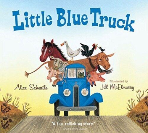 Little Blue Truck, Children Bedtime Stories Board Book Kids