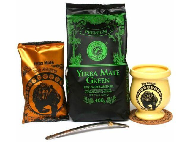 Set Yerba Mate Green ABSINTH 400g + Rio negro 50g