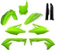 Kxf 450 16-17 Flo Green Colour Acerbis Plastic Kit Motocross Plastics - kawasaki - ebay.co.uk
