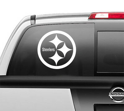 Pittsburgh Steelers Colors (Pittsburgh Steelers Window Sticker Vinyl Decal any size any)
