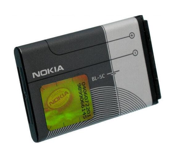 BL-5C Original Nokia LI-ION 1020mAh Battery Origin Nokia 6681 6820 6822 7600