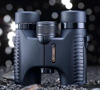 HD 10x26 Binoculars Waterproof Folding Telescope Wide Angle Vision Hunting 5000
