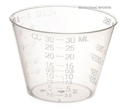 - Plastic Medicine Cups - 500 total - 1 oz - Calibrated - Craft Hobby Cups