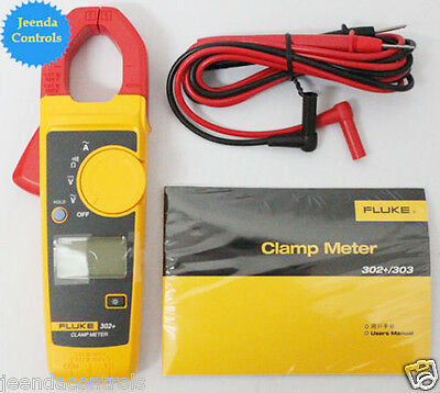 New Fluke 302 Digital Clamp Meter Acdc Multimeter Electronic Tester