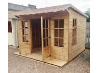 JANUARY OFFER ONLY 10ft x 10ft Laura Summer House