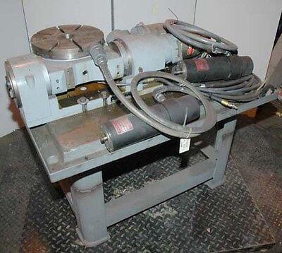 Troyke Cnc 12 Inch Tilting Rotary Table Til12cnc1970 Inv.12620