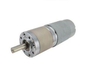 100 rpm 12v dc planetary gear motor high torque ebay