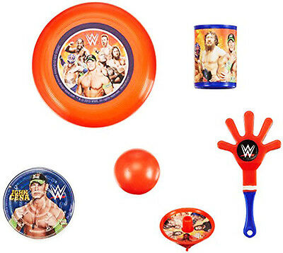 WWE WRESTLING FAVOR PACK (48pc) ~ Birthday Party Supplies Toys John Cena Sports - John Cena Party
