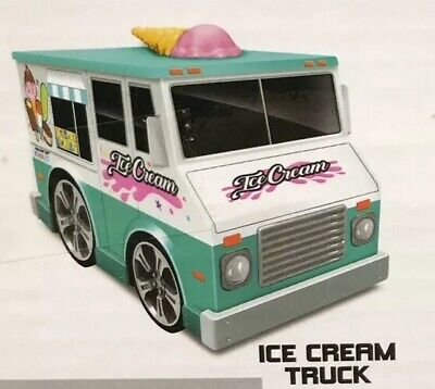 Friction Powered Ice Cream Food Truck - Kids Toy - Ice Cream Truck Kids