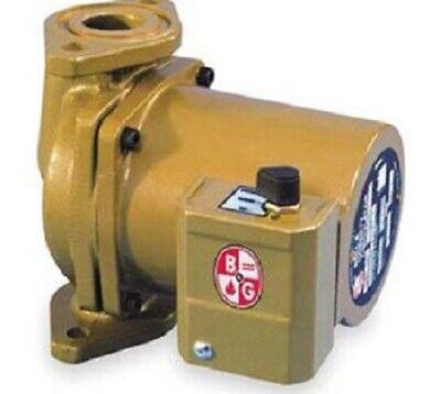 Bell Gossett 103310 Nbf 22 Circulator 230v1 Ph Flanged