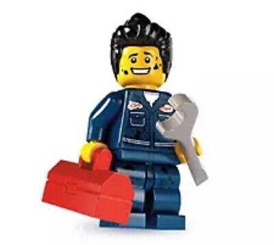 "LEGO MINIFIGURES SERIES 6 (8827) The ""MECHANIC"" ~ (SEALED PACK) RETIRED 2012"