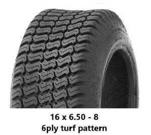 """16 X 6.50 - 8"""" TURF TYRES 6PLY - RIDE ON MOWERS/TRAILERS Midvale Mundaring Area Preview"""