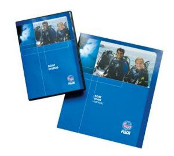 PADI Item 60171 BOAT DIVER Specialty Crewpack w/ 70930 DVD