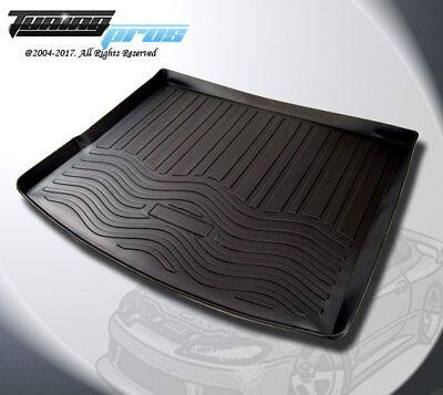 Black Trunk Cargo Floor Mat for VW Touareg 2011-2017 Cargo Pad Floor Tray Liner