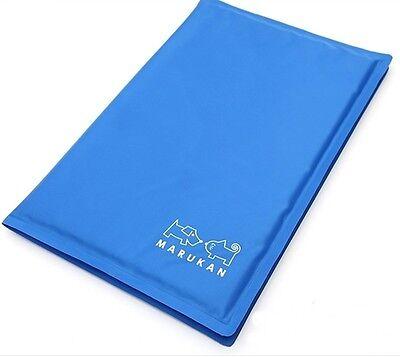 "Marukan Pet Dog Cat Pad Bed Cooler Mat Cool Cushion Seat L (19.5""x15.7""/50x40cm)"