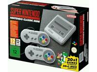 Snes with adapter brand new sealed