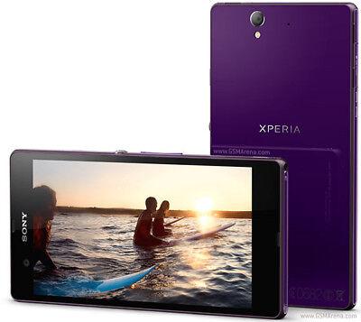 Violet Original Sony Xperia Z C6603 16GB GSM/4G LTE Débloqué Téléphone Mobile