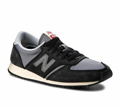 New Balance Authentic Men U420 Fashion Sneakers  Black/Grey U420KBG BNIB