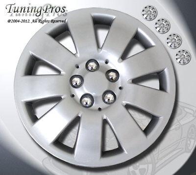 4pcs Set Matte Black 16 inch Hubcap Wheel Rim Skin Cover Hub caps Style#502
