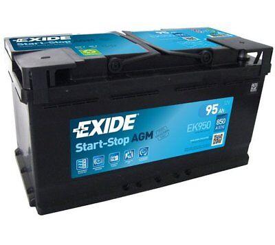 EXIDE Starter Battery Start-Stop AGM EK950