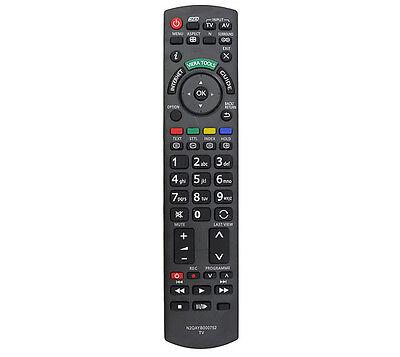 Tv Remote Control For Tx-l32et5 Tx-l32etw5 Tx-l37et5 Tx-l37etw5 Panasonic Tv`s