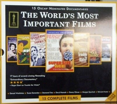 15 Oscar Nominated Documentaries  Dvd 15 Complete Films
