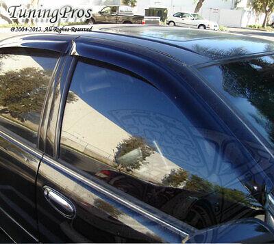 Wind Guards Visor 4pcs For Nissan Maxima 95 96 97 98 99 1995-1999 4 Door GXE SE