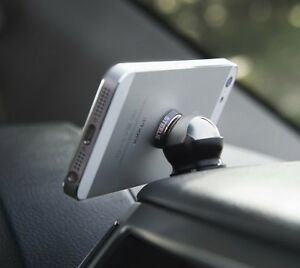 Cell Phone Magnetic Ball Car Holder Dash. Quick release.
