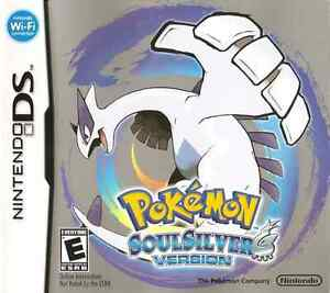 POKEMON SOUL SILVER DS GAME ONLY FOR SALE