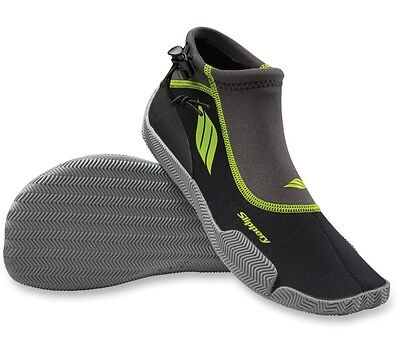 Slippery Black Lime AMP Adult X-Large XL PWC Watercraft Water Shoes 3261-0143
