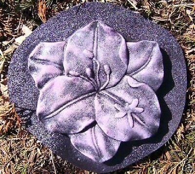 Abs Plastic Cement - Flower concrete plaster mold abs plastic cement mould
