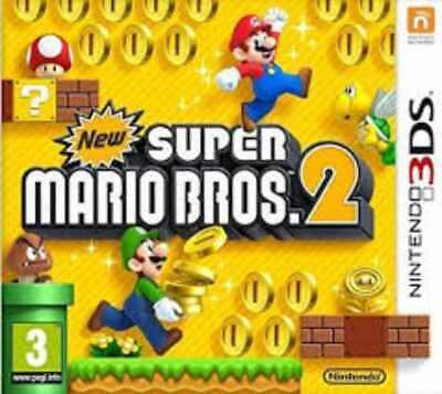 New Super Mario Bros. 2 Nintendo 3DS. Complete - case, manual & cart. UK Genuine