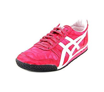 Asics Onitsuka Tiger Ultimate 81 Womens Sz 8 Fuschia Pink Sneaker Lace Up Shoe