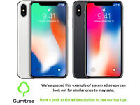iPhone X -- Read the description before replying to this ad!!