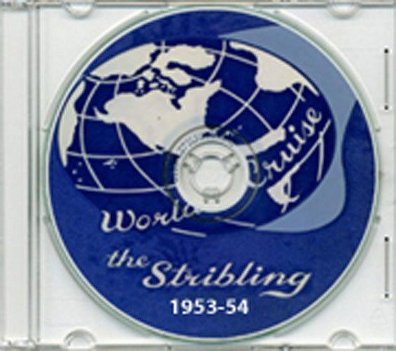 USS Stribling DD 867 1953 - 1954 Cruise Book on CD RARE